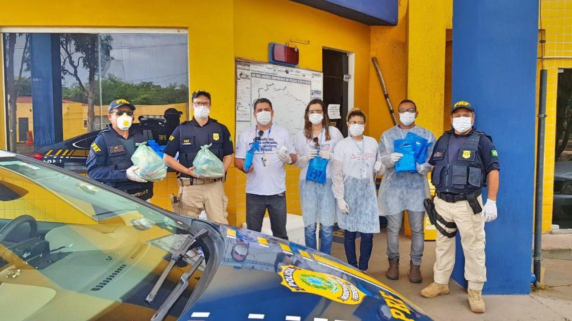 Caminhoneiros recebem auxílio na prevenção ao coronavirus é na BR 232 em Caruaru