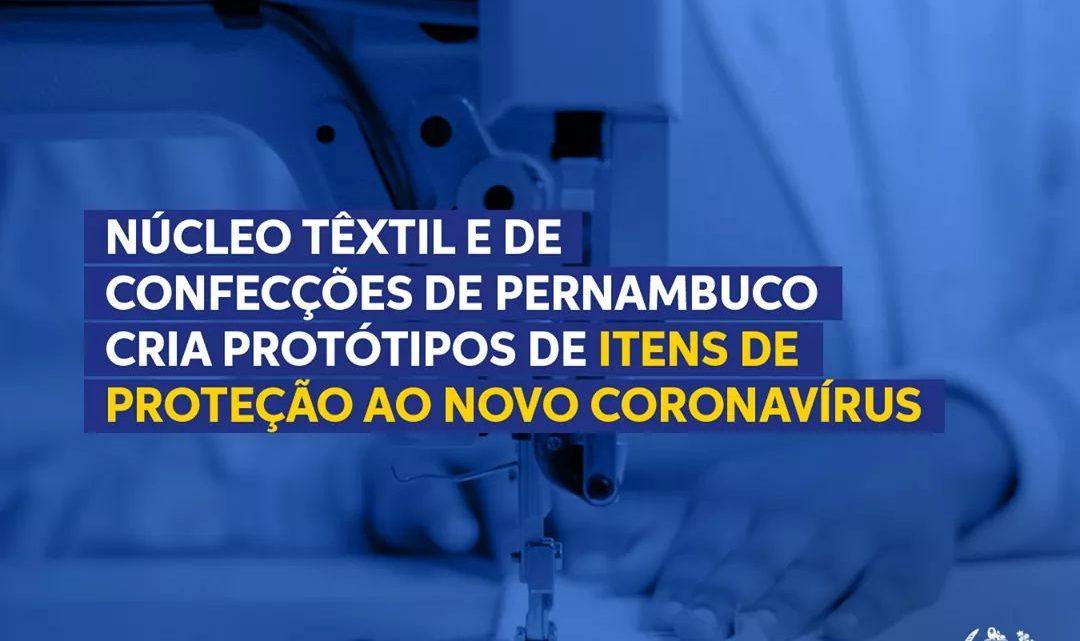 Governo-PE vai movimentar a produção do polo de confecções do Agreste com batas e máscaras
