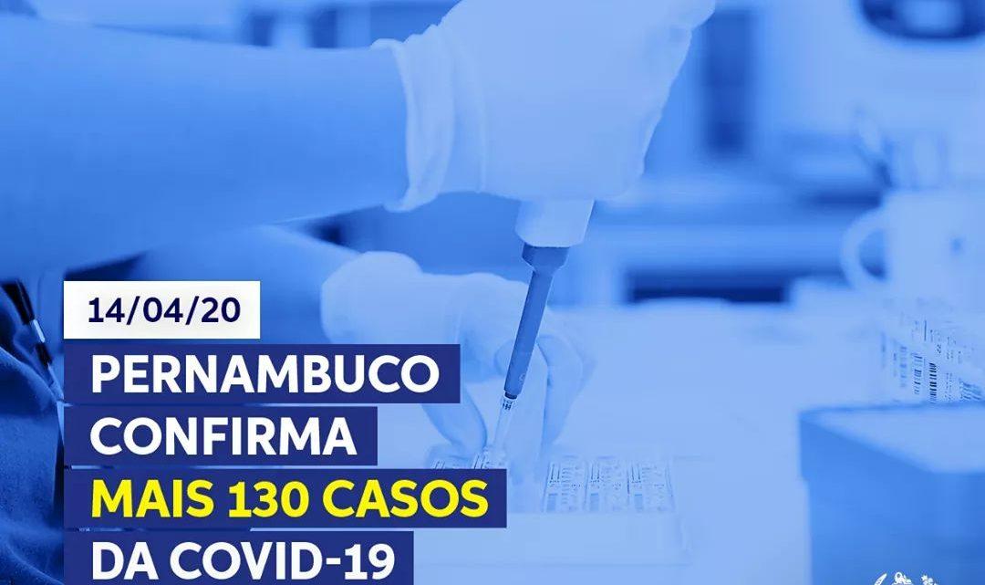 Secretaria de Saúde-PE divulga mais 13 óbitos e 130 novos casos de Covid-19 e 11 recuperados