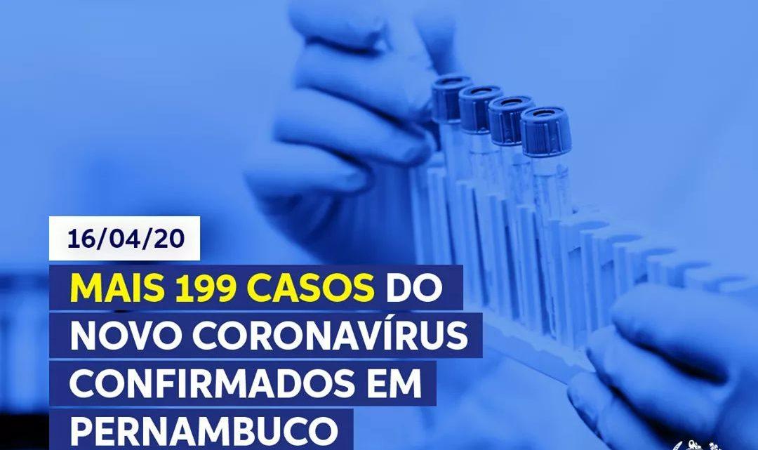 Secretaria de Saúde-PE divulga mais números oficiais sobre Covid-19 no Estado