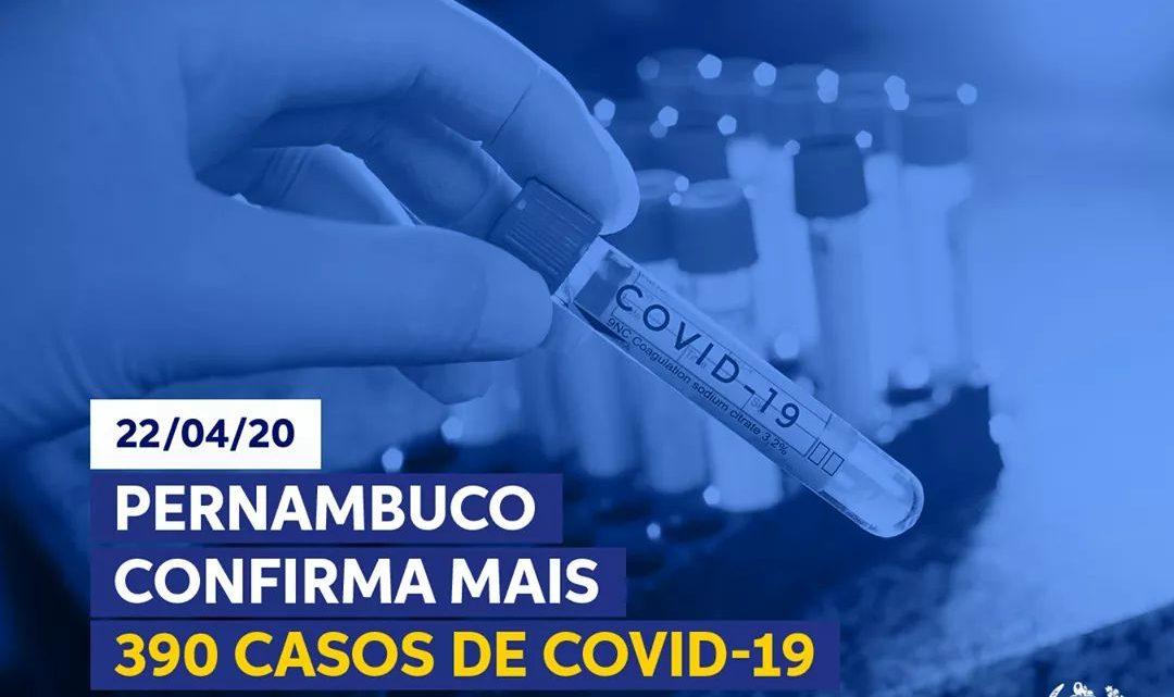 Governo-PE atualiza número de Covid-19; Confira