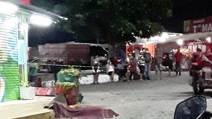 Comerciante é assassinado a tiros na Ceaca, em Caruaru