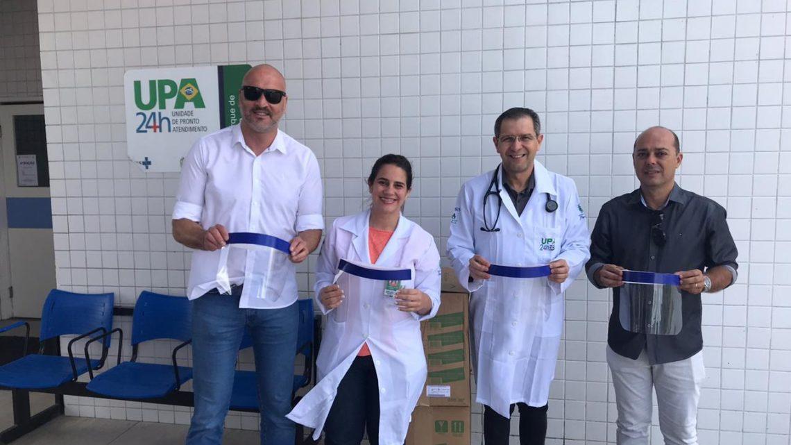 Penitenciária de Caruaru doa máscaras produzidas pelos reeducandos da unidade