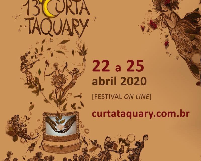 Festival Curta Taquary 2020 será virtual por causa da Covid-19