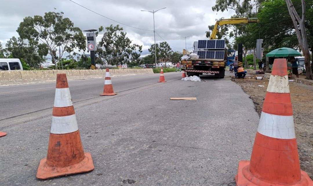 DNIT instala redutores de velocidade nas rodovias em Pernambuco
