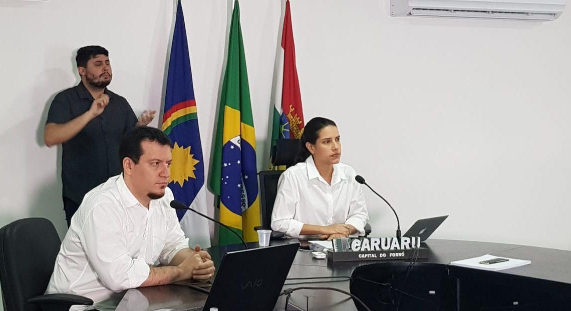 Prefeitura de Caruaru recomenda uso de máscaras para a população ao sair de casa
