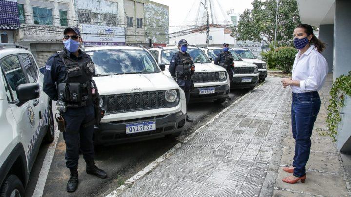 Prefeitura de Caruaru recebe 7 novas viaturas para a Guarda Municipal
