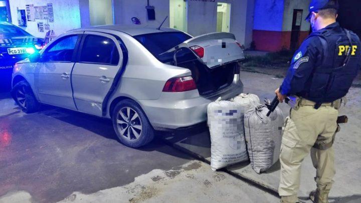 Motorista é detido com 42,5 Kg de maconha em São Caitano