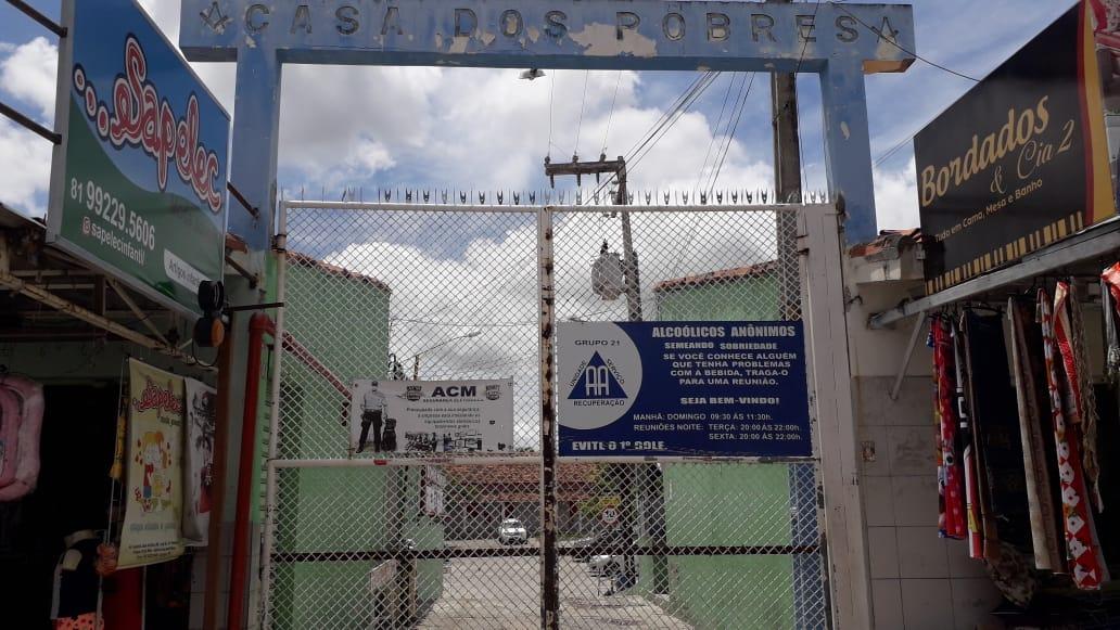 Casa dos Pobres de Caruaru registra um total de 5 óbitos por coronavirus e 9 idosos estão internados