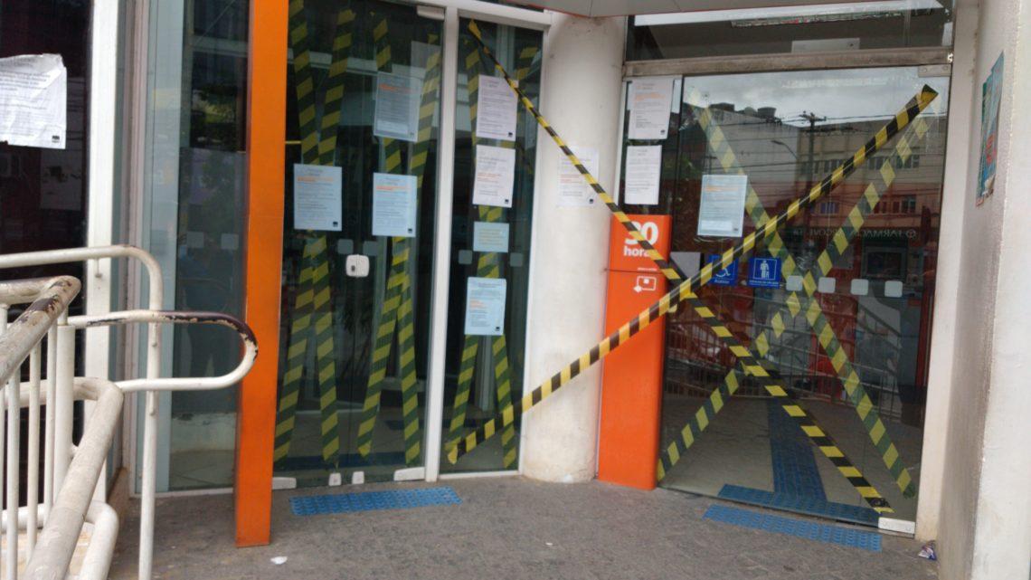 Agência do Itaú interditada a pedido do Sindicato dos Bancários de Caruaru por suspeita de Covid-19 em funcionária