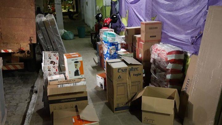 Quadrilha assalta caminhão com carga de eletrodomésticos em Caruaru