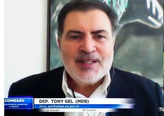 Deputado Tony Gel volta a pedir liberação da Feira da Sulanca