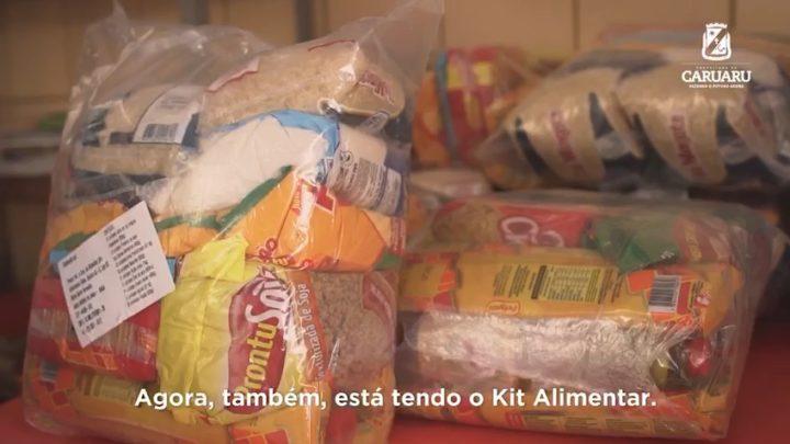 Prefeitura de Caruaru distribui Kits Alimentares