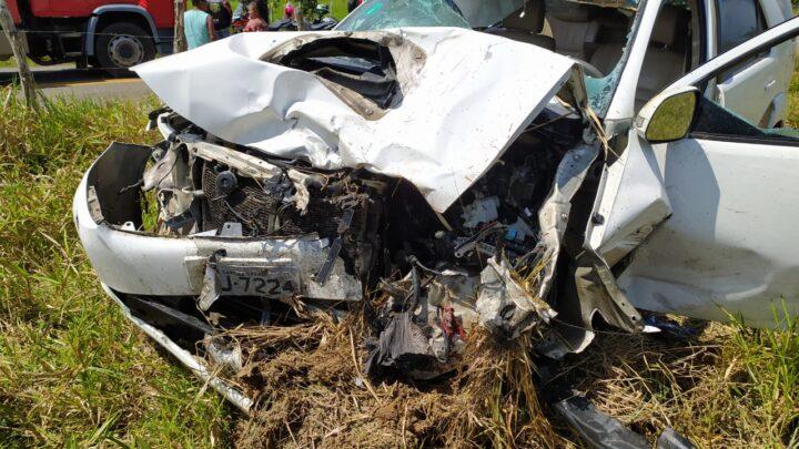 Três óbitos após colisão entre caminhonete e motos na PE-96 em Pernambuco neste domingo (23)
