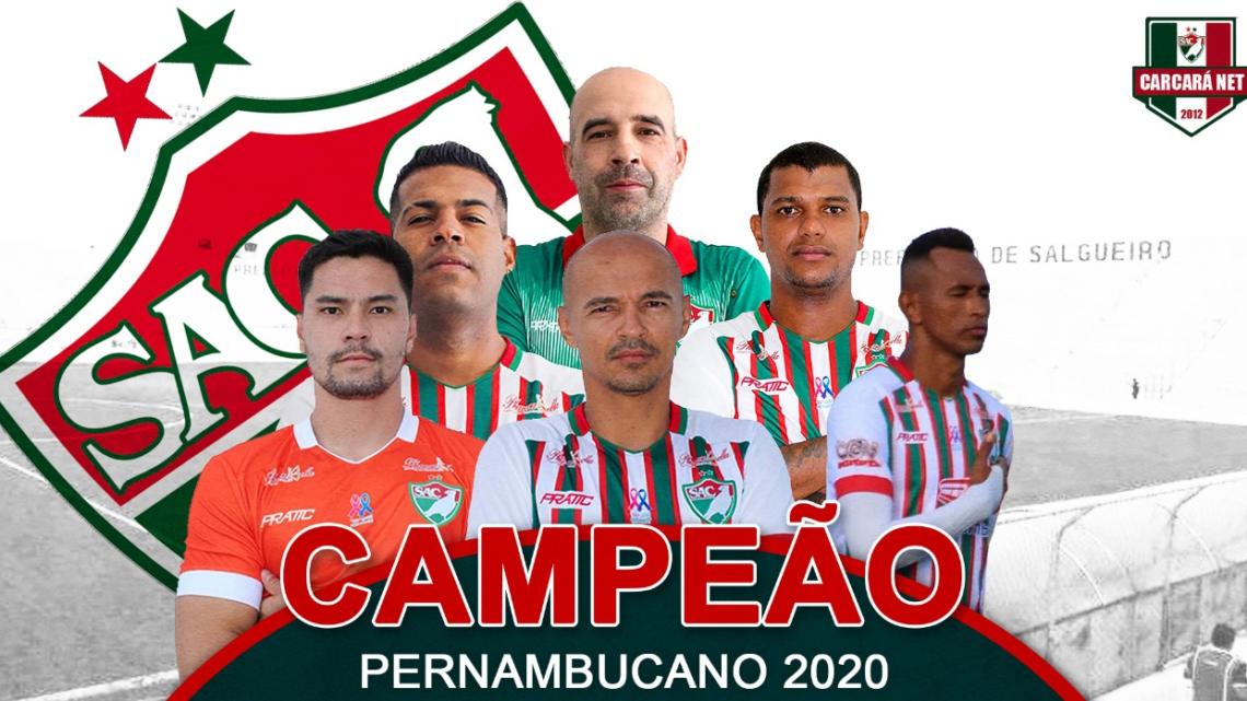 Salgueiro é o primeiro clube do interior campeão em Pernambuco