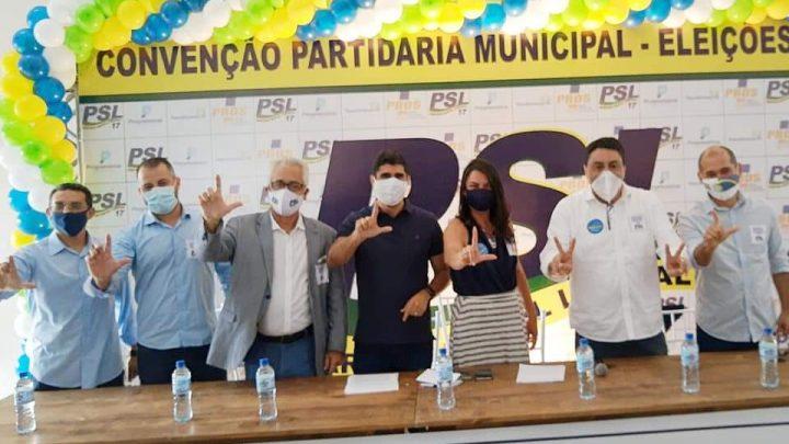 Convenção do PSL Caruaru confirma Manoel na vice de Lessa e homologa 35 nomes para vereador