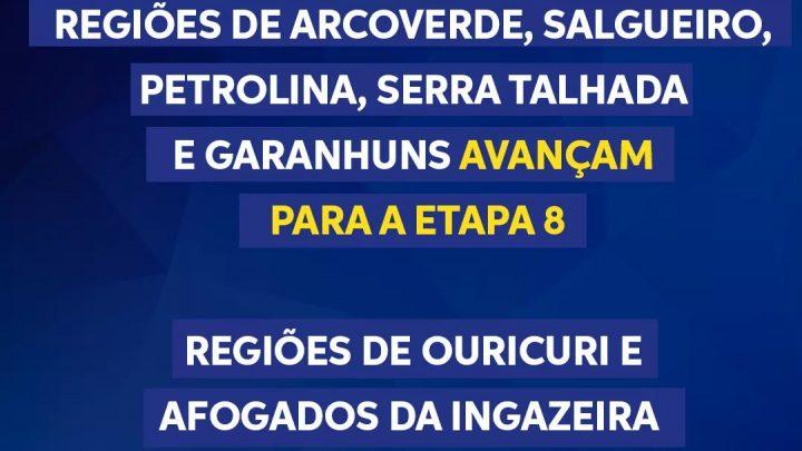Sete regiões de Pernambuco avançam mais uma Etapa do Plano de Convivência com a Covid-19