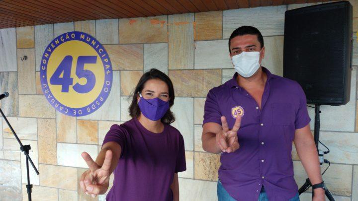 PSDB ratifica nomes de Raquel e Rodrigo para disputar a reeleição em Caruaru