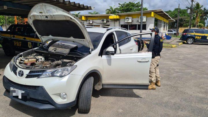 Carro roubado comprado em site de vendas é recuperado na BR 101 em Pernambuco