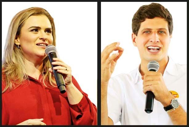 Pesquisa Folha/Ipespe para Prefeitura do Recife: Marília tem 54% dos votos válidos e João 46%