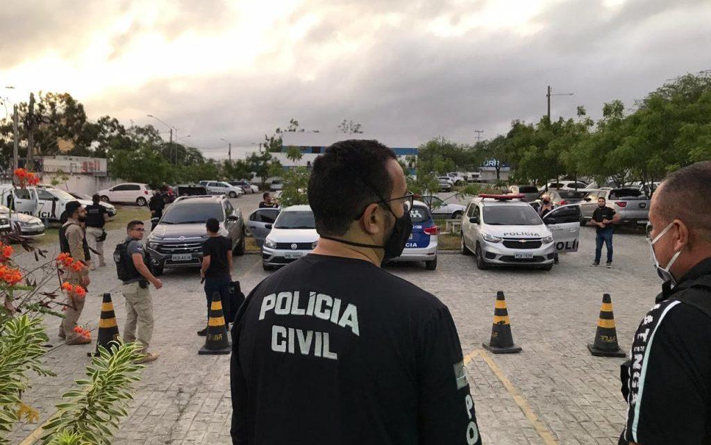 Operação da Polícia Civil em Toritama para desarticular integrantes de Organização Criminosa