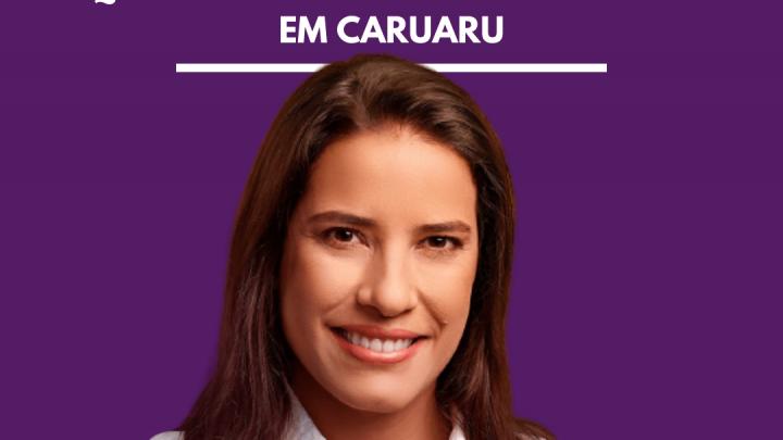 Raquel Lyra é reeleita prefeita de Caruaru