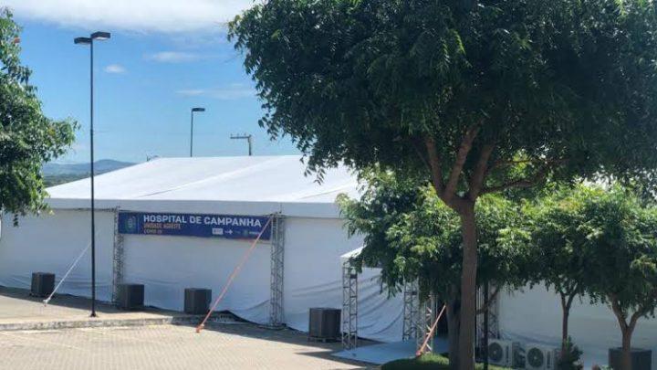 Hospital de Campanha de Caruaru tem 12 pacientes na clínica de isolamento e 3 na UTI Covid-19