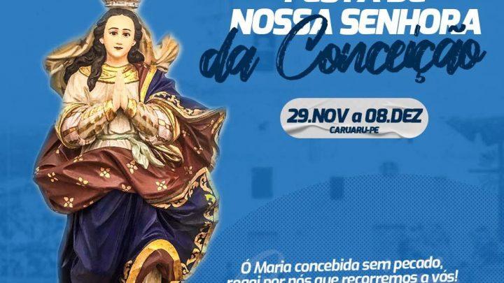 Confira a programação da Festa de Nossa Senhora da Conceição que segue até o dia 08 de dezembro