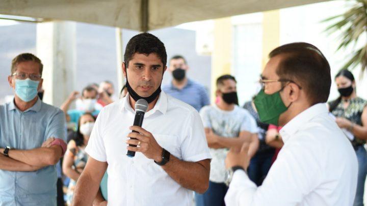 Deputado Erick Lessa visita lideranças no Agreste de Pernambuco