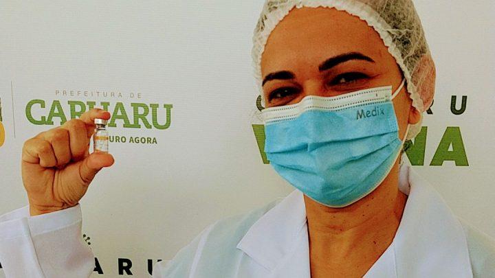Caruaru registra 56 novos casos de covid-19 e mais uma morte; Mais de 1.600 vacinados