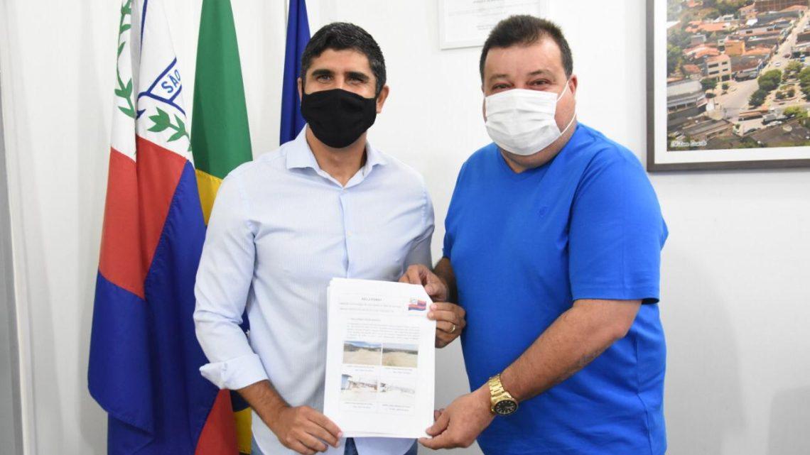 Deputado Lessa se reúne com prefeito de São Caitano