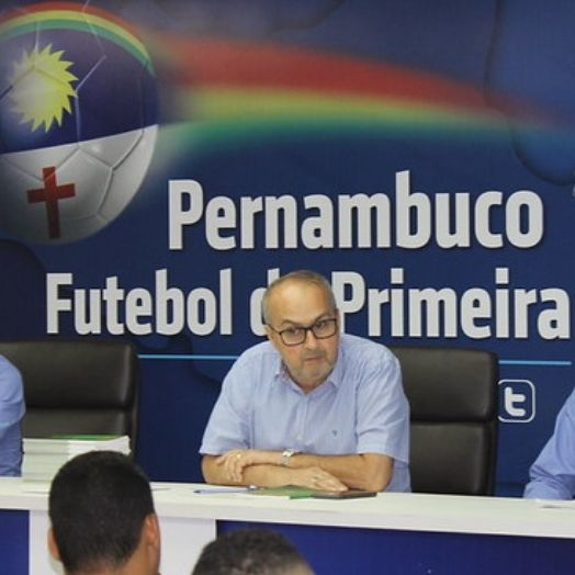 Morre o vice-presidente e diretor de competições da FPF-PE, Murilo Falcão