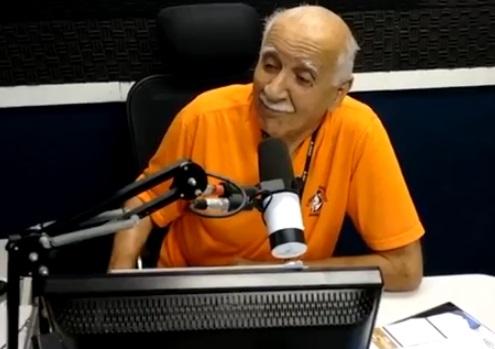Radialista Ivan Bulhões é hospitalizado em Caruaru após sofrer AVC
