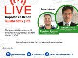 Icia promove Live para tirar dúvidas sobre a Campanha Imposto de Renda 2021