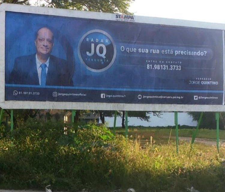 Jorge Quintino lança campanha do Radar JQ