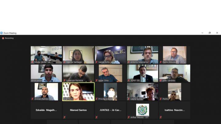 Apatec participa de reunião da Alepe sobre restrições no Agreste