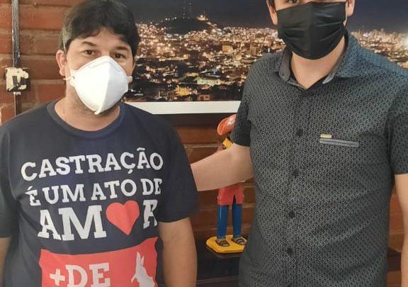 Fagner Fernandes anuncia novidades para a causa animal em Caruaru