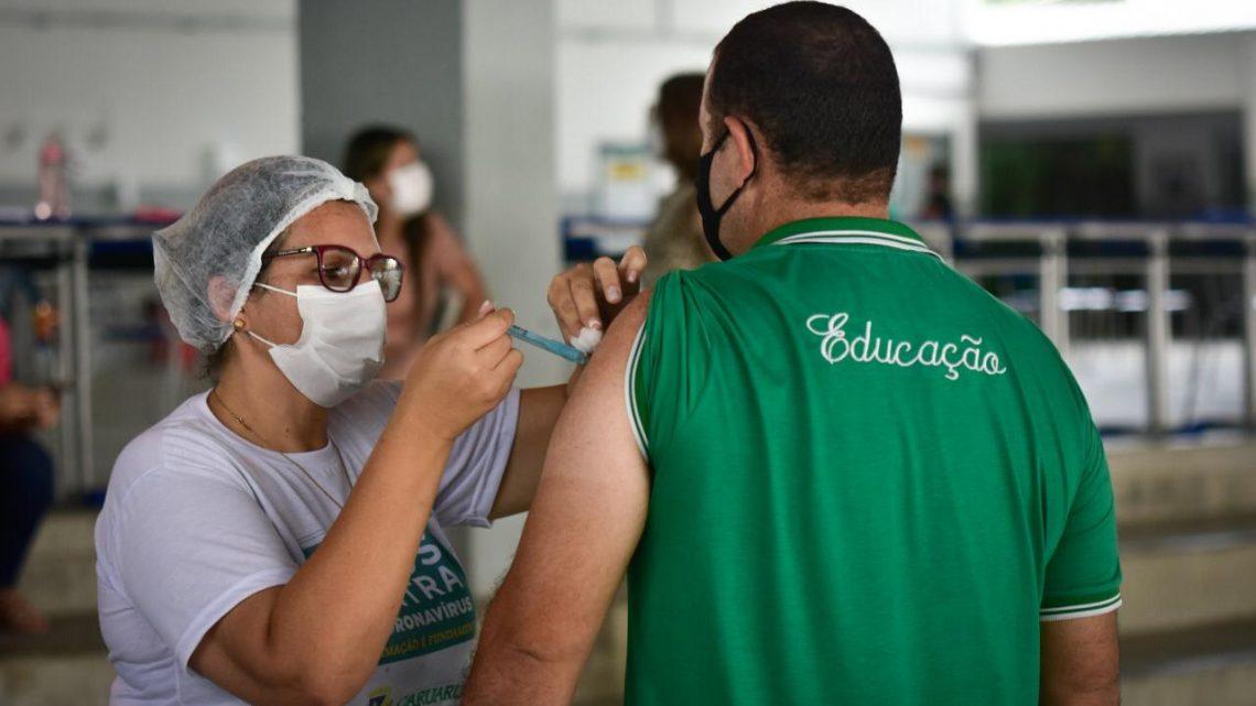 Caruaru inicia pré-cadastramento da vacina contra Covid-19 para trabalhadores da Educação acima de 18 anos