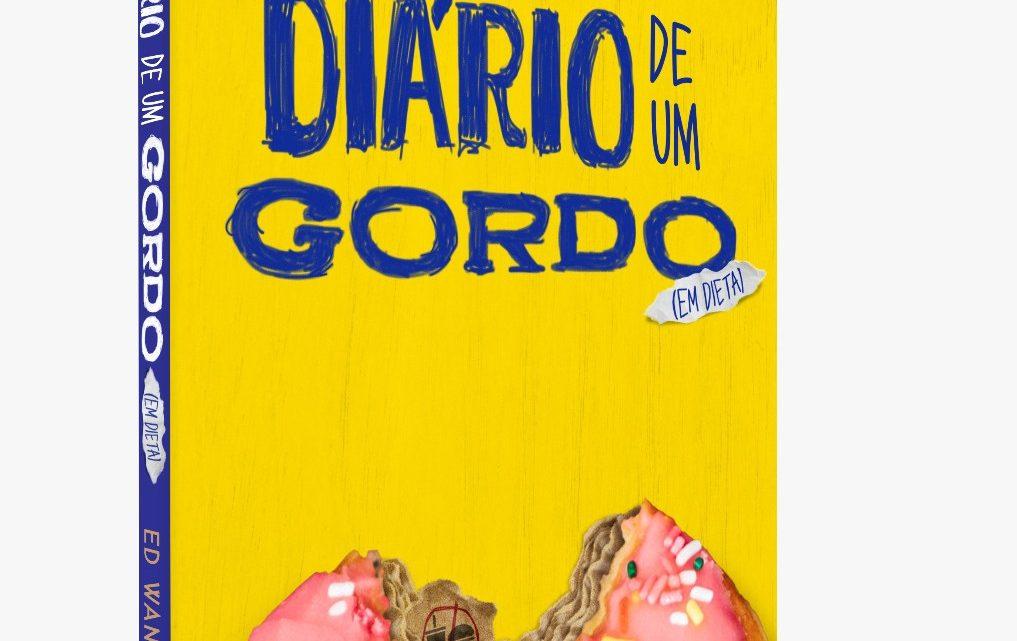 """Jornalista Ed Wanderley lançou o livro """"Diário de um gordo (em dieta)"""" e já é um dos mais vendidos na Amazon"""
