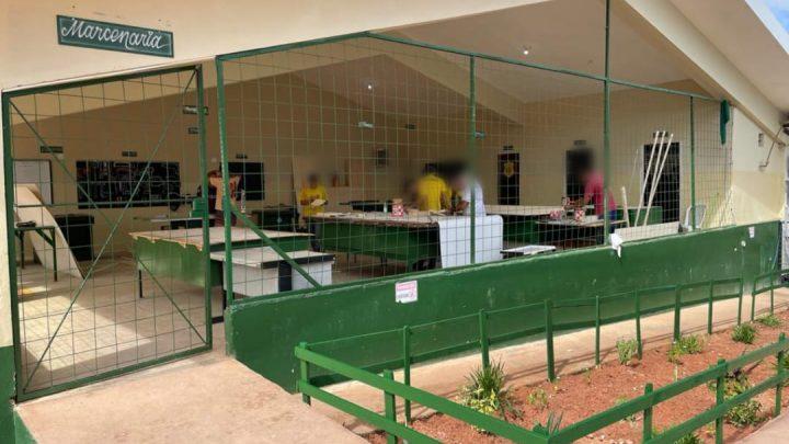 Detentos de Presídio em Pernambuco ganham marcenaria toda reformada