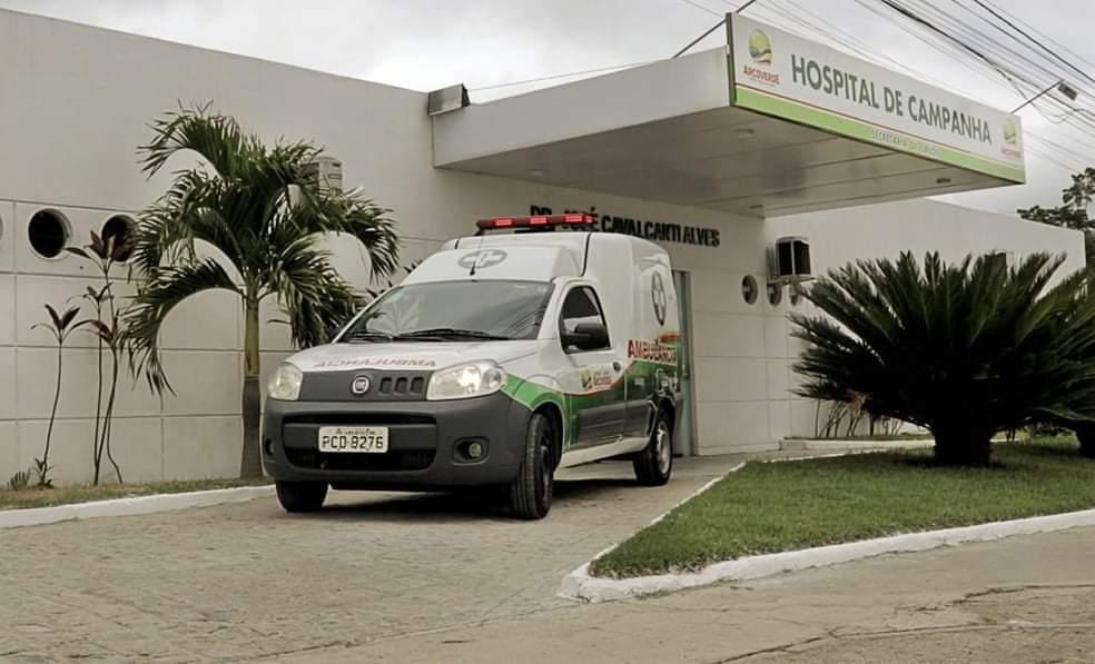 Hospital de Campanha de Arcoverde não tem pacientes internados com covid-19 nesta terça-feira (13)