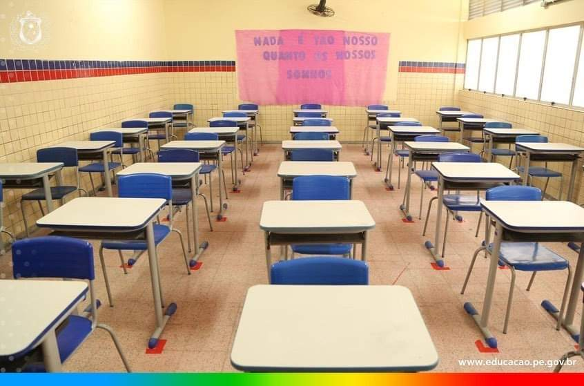 Escolas da Rede Estadual-PE retornam do recesso nesta quinta-feira (22)