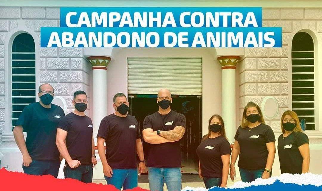 Anderson Correia e Gaeda lançam campanha contra o abandono de animais em Caruaru