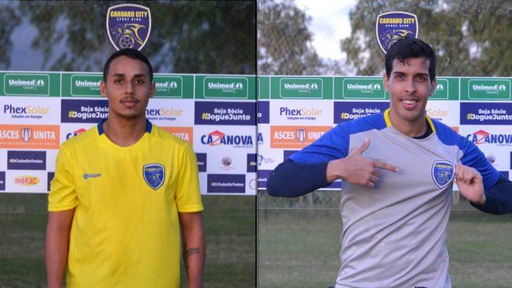 Caruaru City apresenta goleiro e lateral direito para o Pernambucano da Série A2