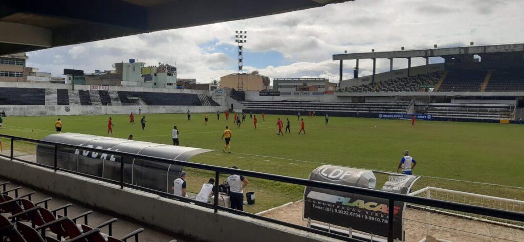 Central perde para o Atlético/CE e está na penúltima colocação do grupo A3 da Série D