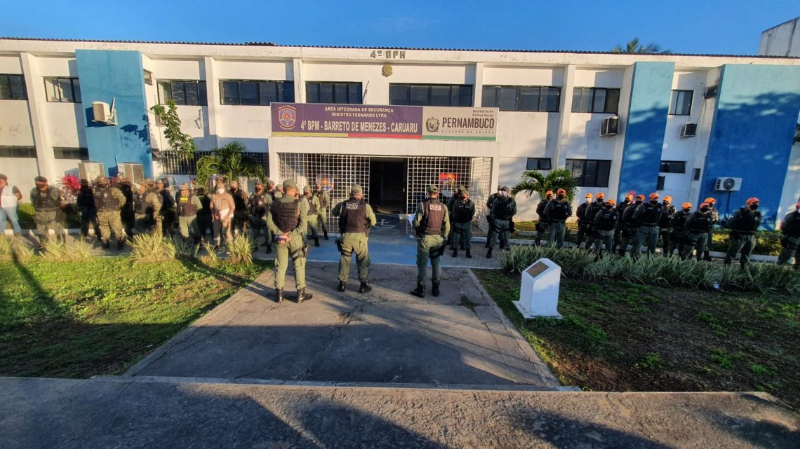 Operação Coalizão é desencadeada no Parque 18 de Maio – Feira de Caruaru