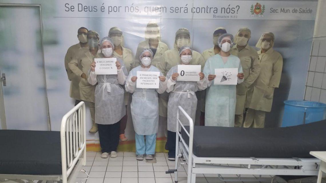 Belo Jardim zera o número de pacientes internados na Ala Covid