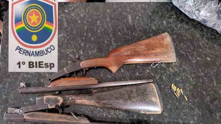 Polícia evita assaltos a comerciantes em Caruaru