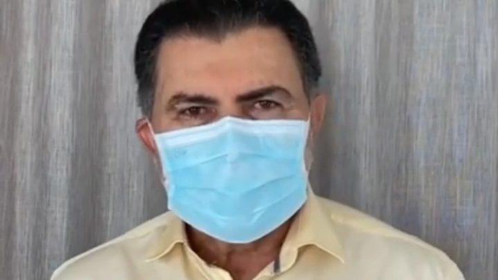 Deputado Tony Gel testa positivo para Covid-19 após tomar as duas doses da vacina